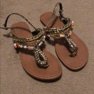 Maurice's bohemian style Sandals